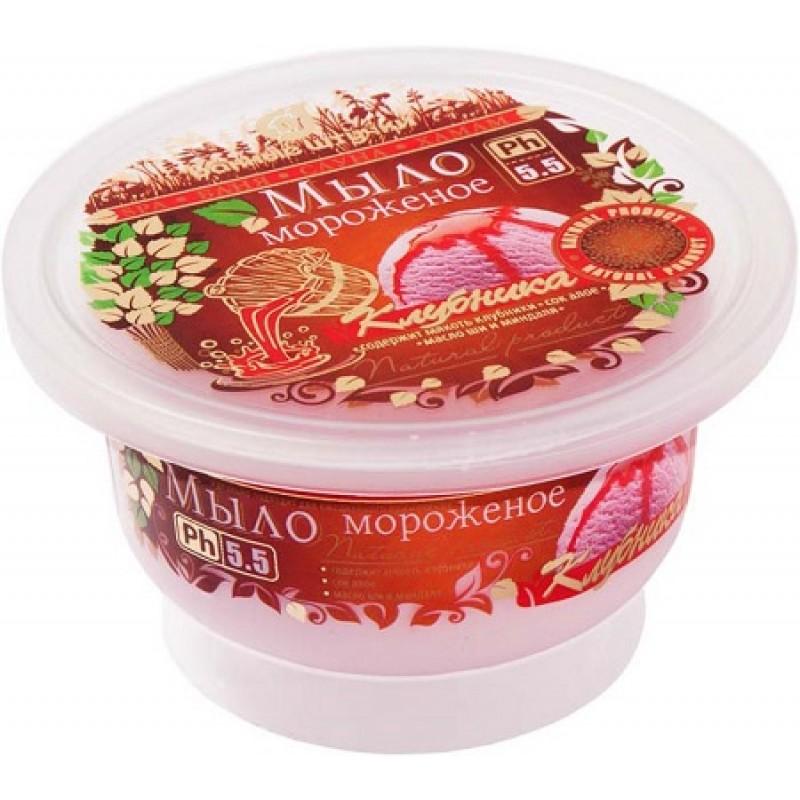 Мыло-мороженое Клубника