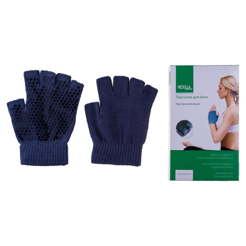 Перчатки для йоги антислип Medolla