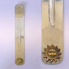 Подставка Лыжа под благовония металл алюминий 24см