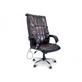 Офисное массажное кресло EGO BOSS EG1001 Шоколад в комплектации LUX
