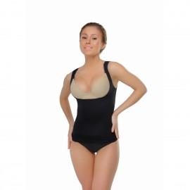 Корректирующая майка Vest body shaper Black