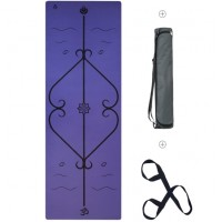 Мат для йоги Lepomate solo yoga mat фиолетовый