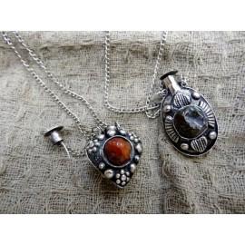 Аромакулон металл+камень 3-4см Индия