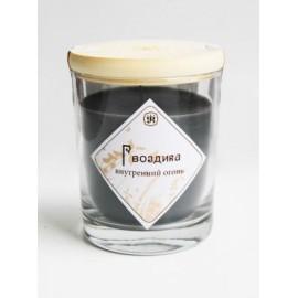 Ароматическая свеча с маслом гвоздики 9см, 200г, 30ч